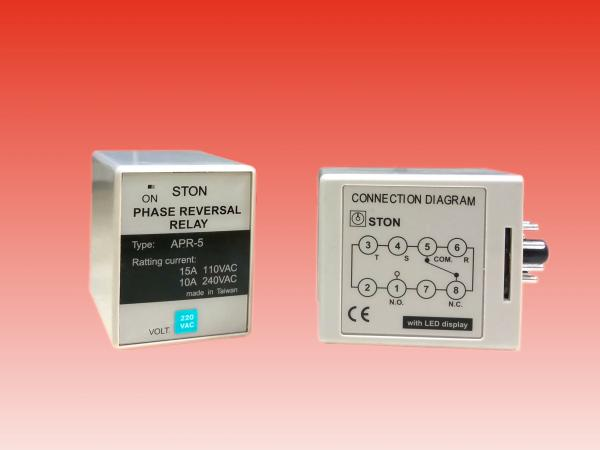 PHASE REVERSAL & PHASE FAIL RELAY